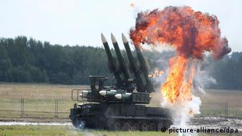 Система ПВО Бук на авиасалоне в Жуковском