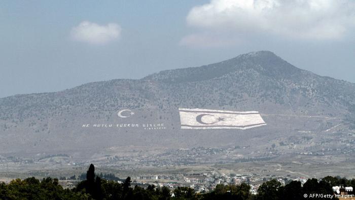 Zypern Nordzypern Fahne Türkei 20.07.2014