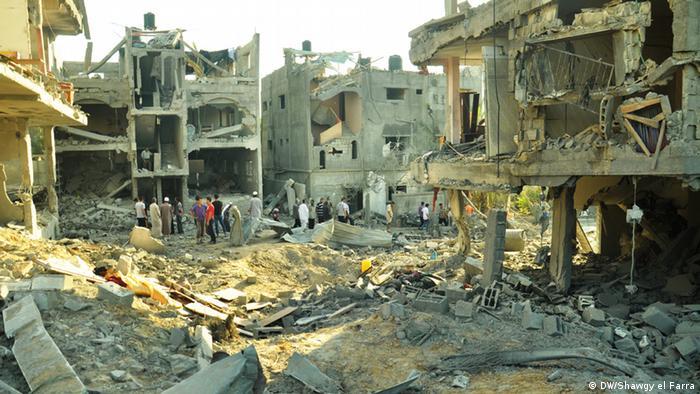 Zivilisten leiden in Gaza