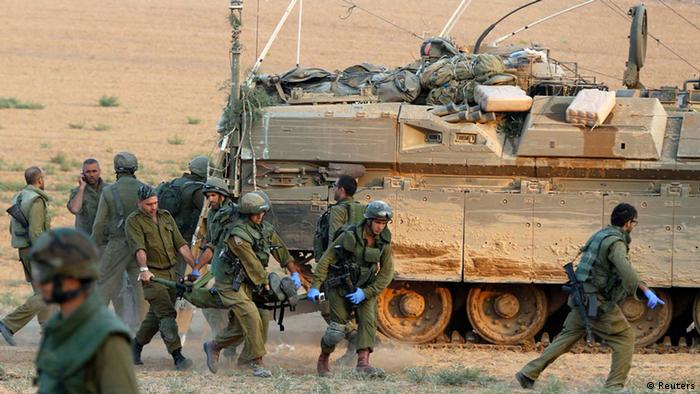 Gaza Bodenoffensive Israel Soldaten 20.07.2014