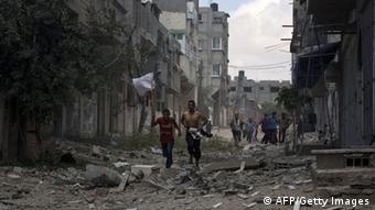 Gaza Bodenoffensive Zerstörungen Zivilisten 20.07.2014