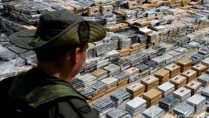 Festnahme El Puma in Cauca, Kolumbien