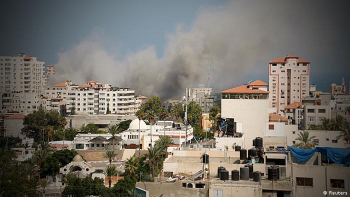 Gaza Israel Krieg Bodenoffensive Beschuss Terror in Gaza