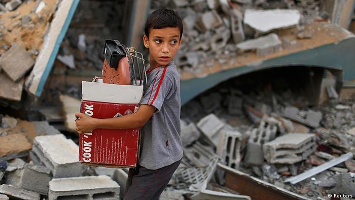 Gaza Israel Krieg Bodenoffensive Beschuss Terror in Gaza 21.7. (Reuters)