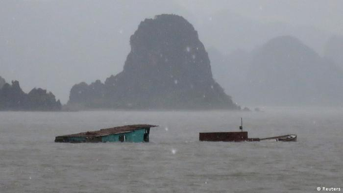 Bildergalerie Rammasun in Vietnam 19.07.2014 (Reuters)