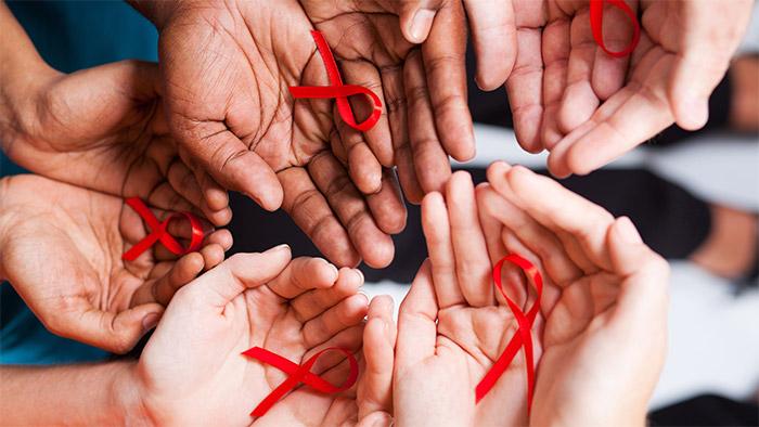 صورة رمزية لمرض الايدز