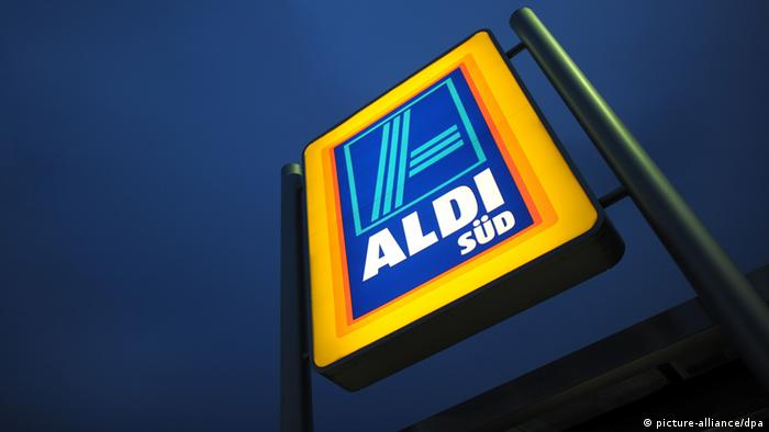 Aldi Logo (picture-alliance/dpa)