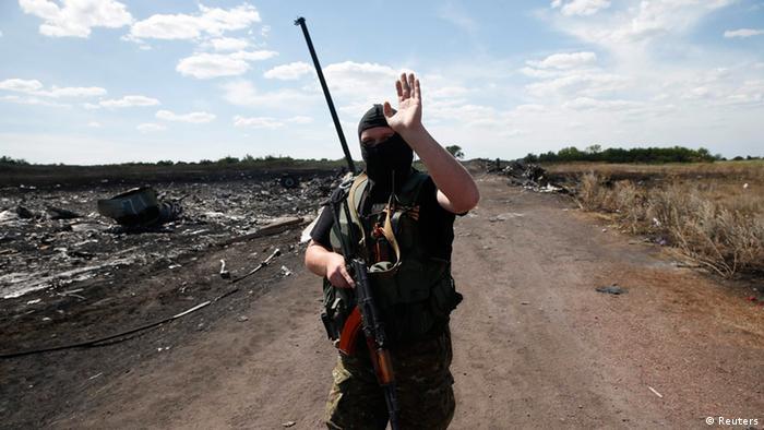 Ostukraine Separatisten 21.07.2014 Grabowo