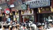 Starbucks Filiale in Shanghai