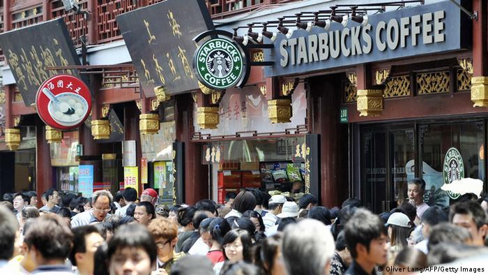 Starbucks Filiale in Shanghai