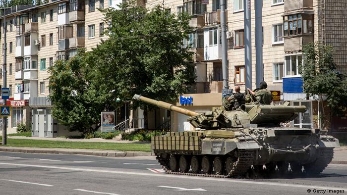 Ostukraine Separatisten 21.07.2014 Donezk