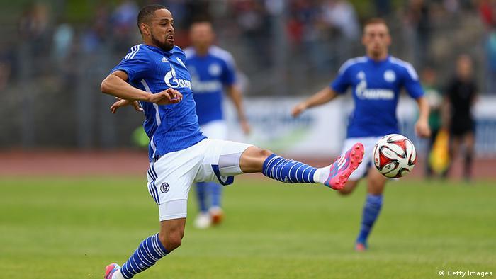 Deutschland Fußball Bundesligatrikot Saison 2014/15 Schalke Sidney Sam