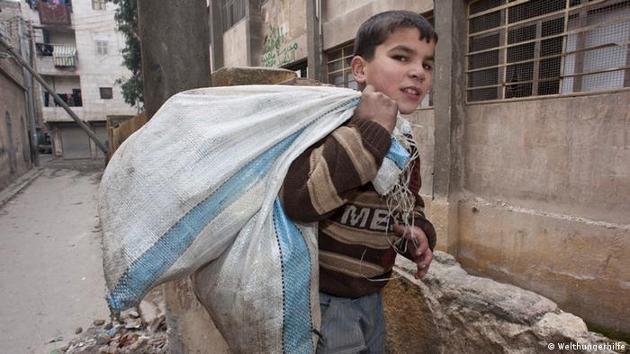Casi la mitad de la poblaci�n siria, desplazada por la guerra