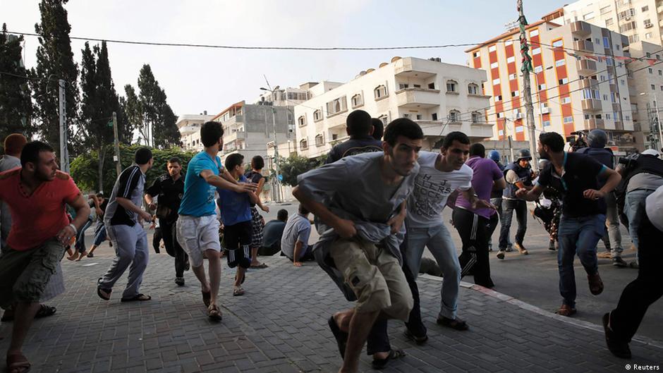 قصف مستمر على غزة وجهود مكثفة للتهدئة | DW | 22.07.2014
