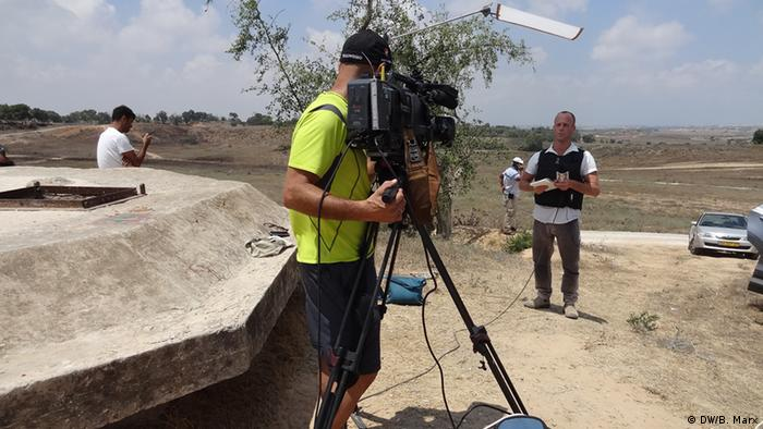 Israelischer TV Journalist Yoav Even 22.07.2014