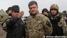 Ukraine Charkiw Präsident Poroschenko