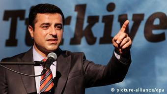 Opposition leader Selahattin Demirtas