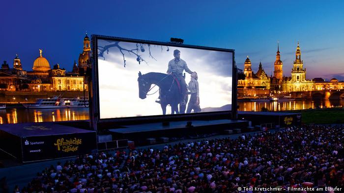 Bildergalerie Open Air Kinos Dresden