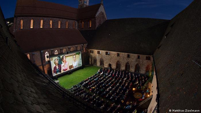 Bildergalerie Open Air Kinos Alpirsbach