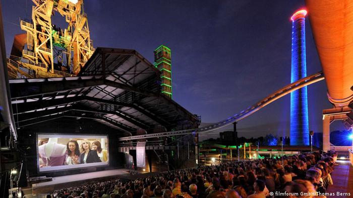 Bildergalerie Open Air Kinos Duisburg