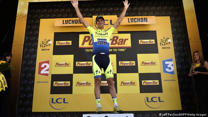 Michael Rogers Sieger Tour de France 16. Etappe (Foto: JEFF PACHOUD/AFP/Getty Images)