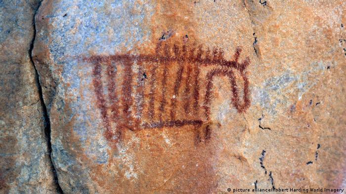 Felsmalereien in den Tsodilo Hills, Botswana (Foto: picture alliance/Robert Harding World Imagery)
