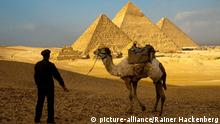 Pyramide in Gizeh, Ägypten (Foto: picture-alliance/Rainer Hackenberg)