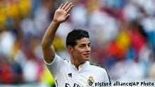 James Rodriguez Real Madrid Spieler