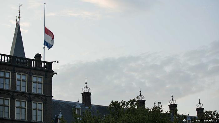 MH17 Nationaler Trauertag in der Niederlande 23.07.2014
