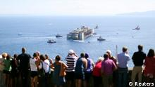 Costa Concordia Abtransport nach Genua 23.07.2014