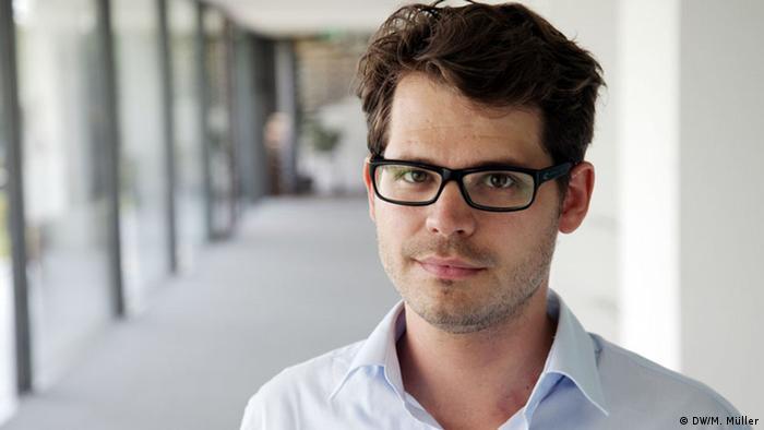 Jan-Philipp Scholz, jornalista do Departamento África da DW
