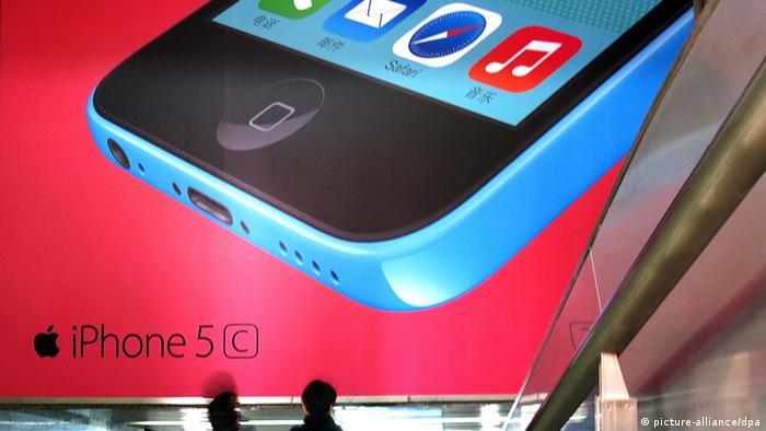 Werbung iPhone 5c