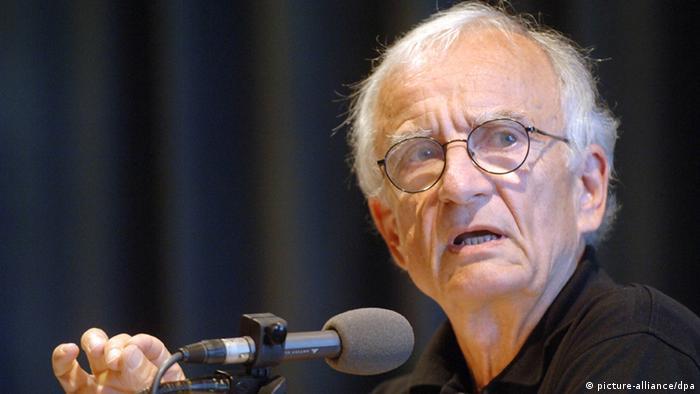 Norman Paech, Politik-Professor. Foto: Foto: Maurizio Gambarini/dpa.