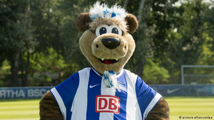 Herthinho, do Hertha Berlim