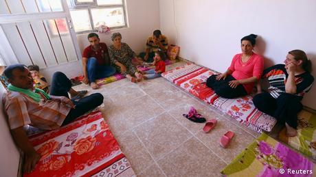 Irak christliche Flüchtlinge aus Mosul 19.07.2014
