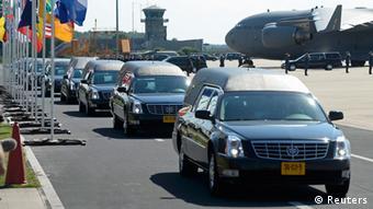 Конвой с телами погибших, июль 2014, Нидерланды