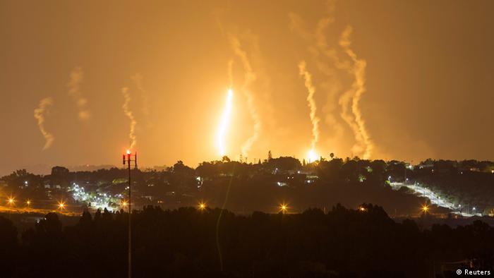 Israelische Angriffe auf den Gaza-Streifen (Foto: Reuters)