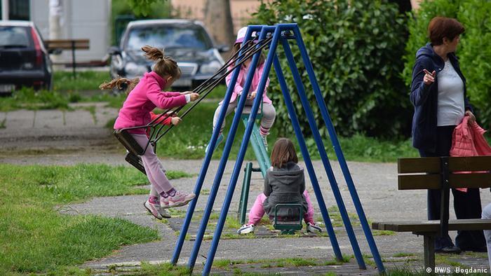 Kinderspielplatz in Zagreb