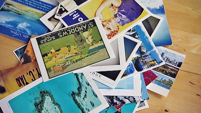 Открытки, отправленные в рамках проекта Postcrossing
