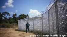 Bulgarien Grenzzaun zu Türkei 17.07.2014