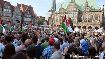 Bremen Demonstration Nahostkonflikt 23.07.2014