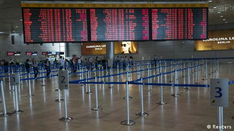 Через страйк не працює головний аеропорт Ізраїлю
