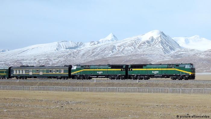 Lhasa-Bahn (picture-alliance/dpa)