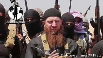Sunnitischer Extremist im Irak, 8.6.2014 (AP Video)