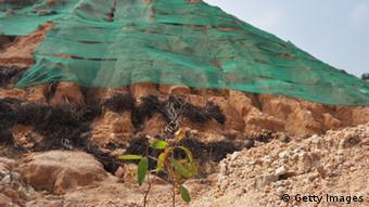 Bodenverschmutzung in China