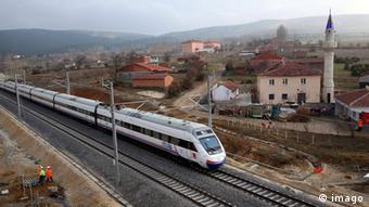 Türkei Hochgeschwindigkeitszug Ankara-Istanbul