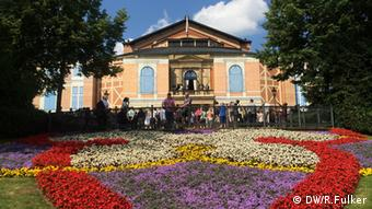 Green Hill in Bayreuth, Copyright: DW/R.Fulker