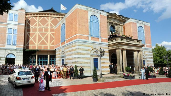 Bayreuth Festival 2014: Festspielhaus. Photo: Tobias Hase/dpa