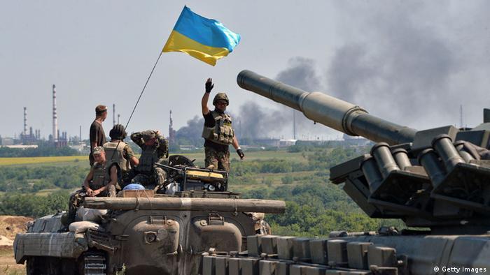 Lyssytschansk Ukraine Rückeroberung 25.07.2014