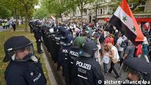 Al-Kuds Berlin Anti-Israel Demonstration Palästinenser 25.07.2014